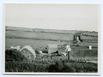 Cregneash Folk Museum looking south