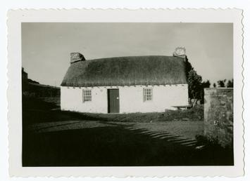Cregneash Harry Kelly's cottage