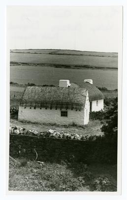 Cregneash The lathe shed & Harry Kelly's cottage