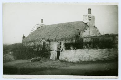 Cregneash Thatching Crebbin's Cottage by Mr E Dawson…
