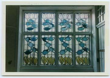 Stained glass window, Glencrutchery House, Douglas