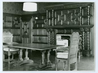 Dining room, Glencrutchery House, Douglas