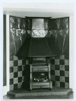 Fireplace at Glencrutchery House, Douglas