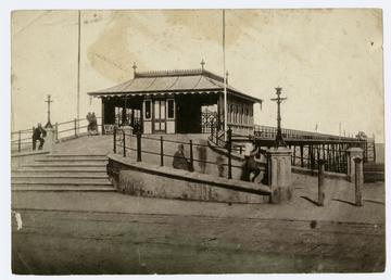 Entrance to the Iron Pier, Douglas