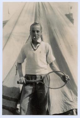 Leslie Williams at Cunningham's Camp, Douglas