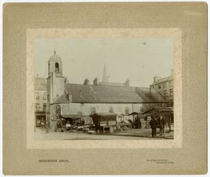 The Market Place and Old St Matthews church,…