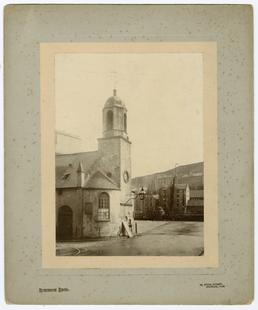 Old St Matthews church, looking towards South Quay,…