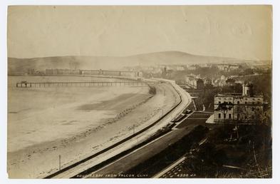 Douglas Bay, Castle Mona and the Iron Pier…