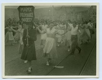 Douglas Carnival and the Manx Folk Dance Society