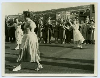 The Manx Folk Dance Society at Douglas Carnival