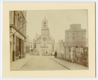 Old St Matthew's church, Douglas