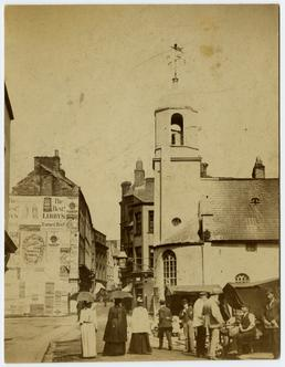 Old St Matthew's church, Market Hill, Douglas