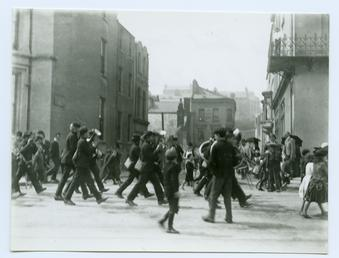 Boys Brigade procession, Douglas
