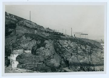 Douglas Head and the incline railway