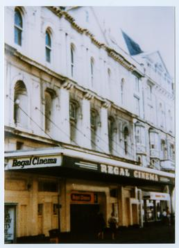 Regal cinema, Victoria Street, Douglas