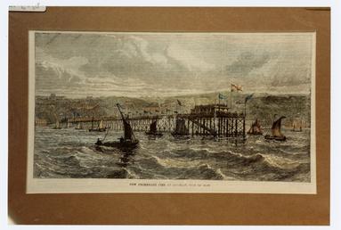 Print of the Iron Pier, Douglas