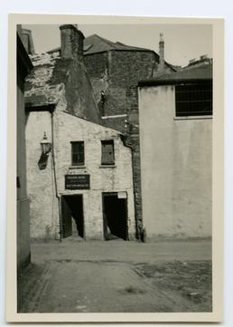 Entrance to the old (Wellington) Assembly rooms, Fort…