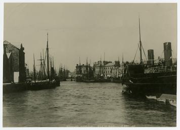 The steamer Snaefell II at Inner Harbour, Douglas