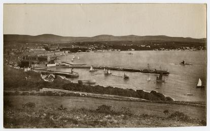 View of Douglas bay