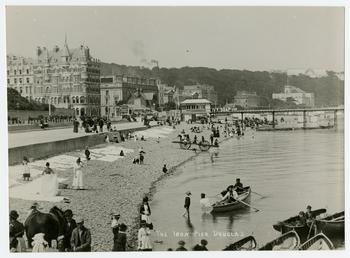 The Iron Pier, demolished in 1895, Douglas