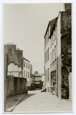 Westward view of New Bond St, Douglas