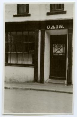 Cain's window, New Bond St, Douglas