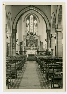 Interior of St Matthew's church, Douglas