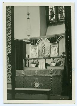 Altar, Lady Chapel, St Matthew's church, Douglas