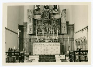 Altarpiece, St Matthew's church, Douglas