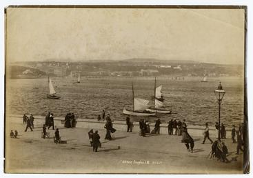 Douglas bay showing Iron Pier