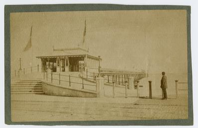 Iron Pier, Broadway, Douglas