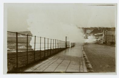 Douglas Promenade during a storm