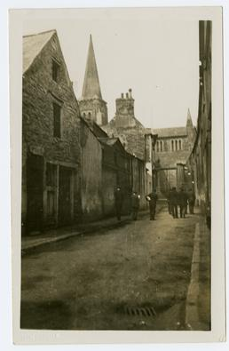 Fort Street and St Barnabas church, Douglas