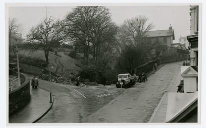Junction of Broadway and Derby Road, Douglas