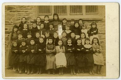 Laxey School group