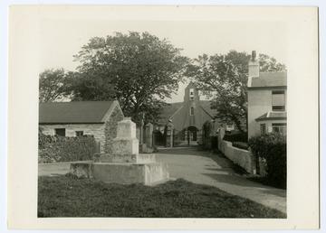 Maughold church and cross