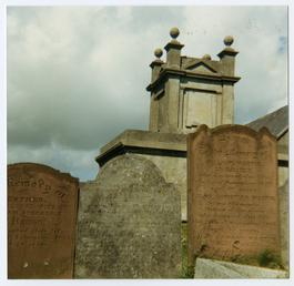 Maughold churchyard