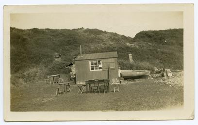 Port Mooar, Maughold sharing small building and boat…