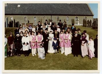 Maughold's Millennium Manx Wedding