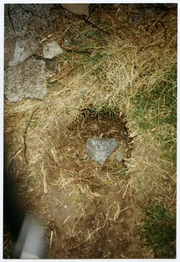 Site of 'Golden Egg', near Maughold Church