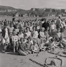 Sandcastle Competition, Port Erin