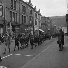 Scouts Parade, Douglas