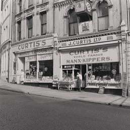 Curtis fish shops, Victoria Street, Douglas