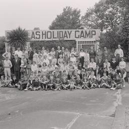 Holiday crowd at Douglas Holiday Camp