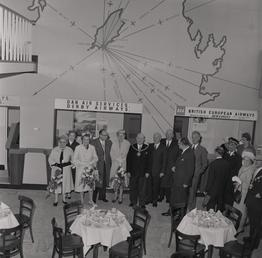 Opening of the Air Terminal at the Douglas…