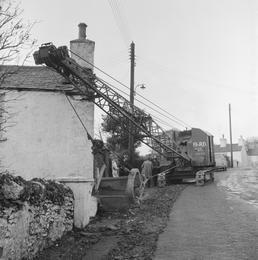 Runaway Crane, Laxey