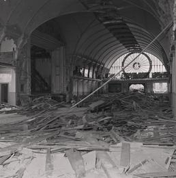 Demolition of Derby Castle