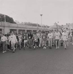 Start of the Men's Parish Walk