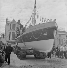 Ramsey lifeboat naming ceremony