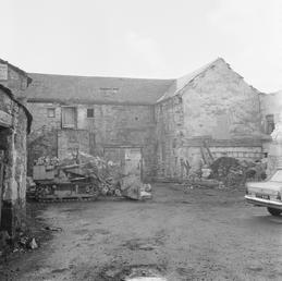 Demolition at Castletown